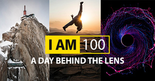 I am 100 – a day behind the lens